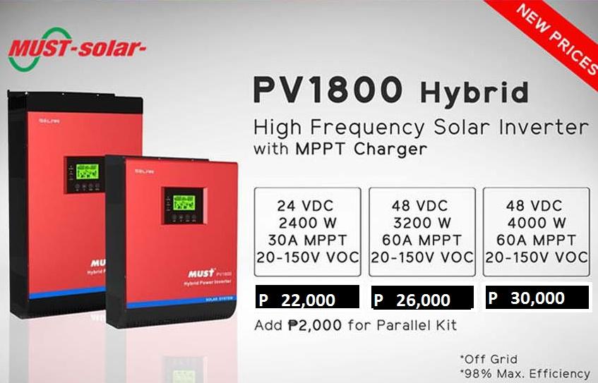 PRICES   Cebu Solar Inc