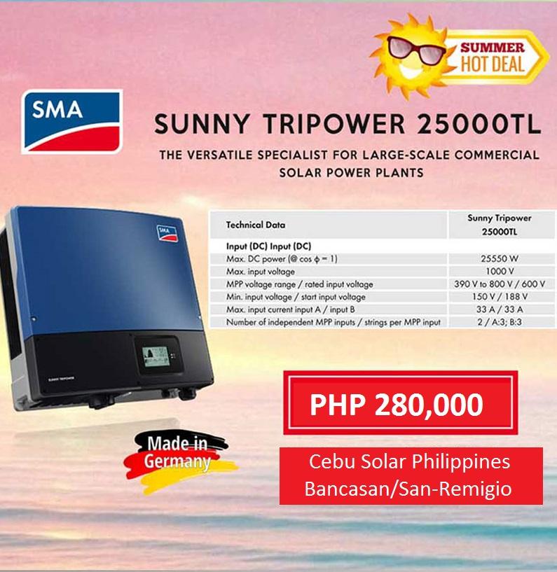 PRICES | Cebu Solar Inc