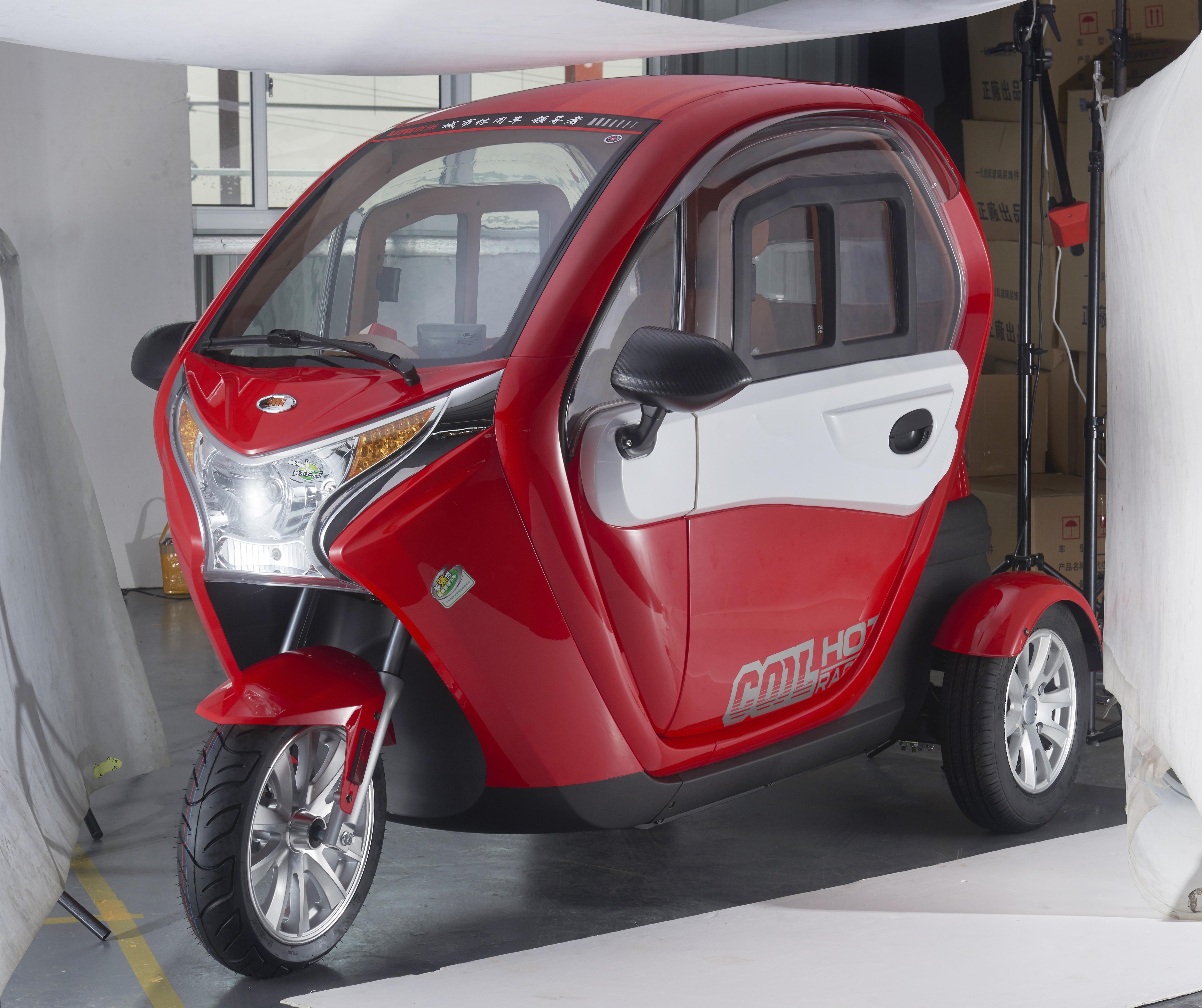 New COOL Electric Tricycle | Cebu Solar Inc